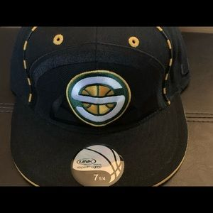 Seattle SuperSonics fitted hat size 7 1/4